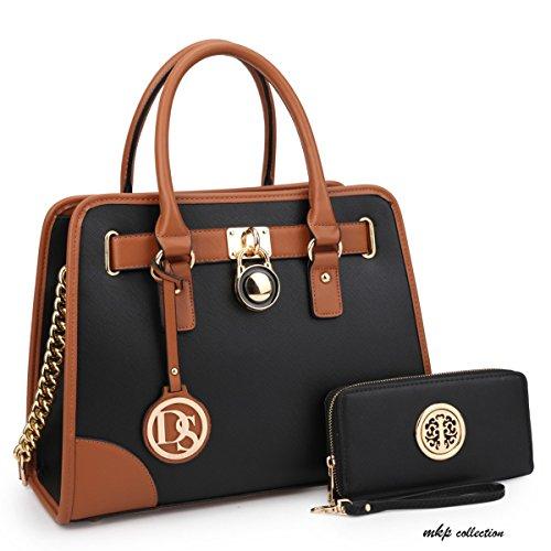 MKP Collection Fashion Woman Handbag and Wallet set~Beautiful Tote~Designer  Satchel~Fashion Purse.Top handle handbag. Holiday gift for woman. 992079abb1