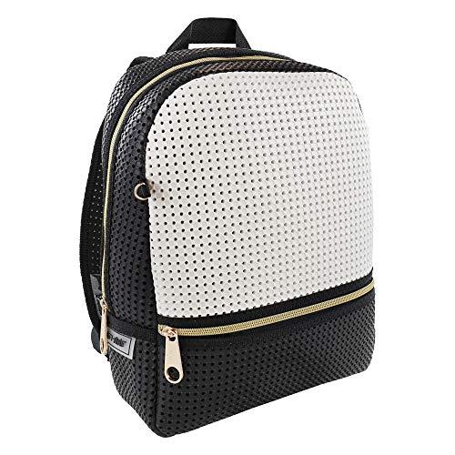 Price comparison product image Light+Nine Customizable Starter Ergonomic School Backpack (Black N White)