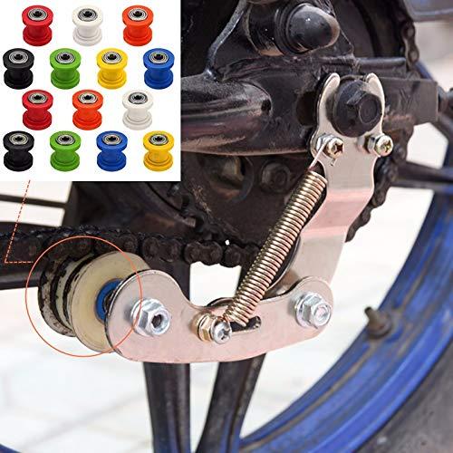 (Kavas - 8/10mm Drive Chain Roller Pulley Wheel Slider Tensioner Wheel Guide For Enduro Motorcycle Motocross PIT Dirt Bike ATV CRF CR XR)