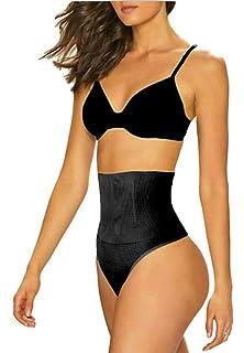 ac4fa7fa047 ShaperQueen 102B Thong - Womens Waist Cincher Body Shaper Trainer Girdle  Faja Tummy Control Underwear Shapewear