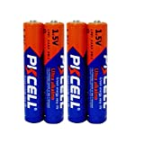 1.5v aaaa 4ALR61 battery for flashlight count :Pcs (4)