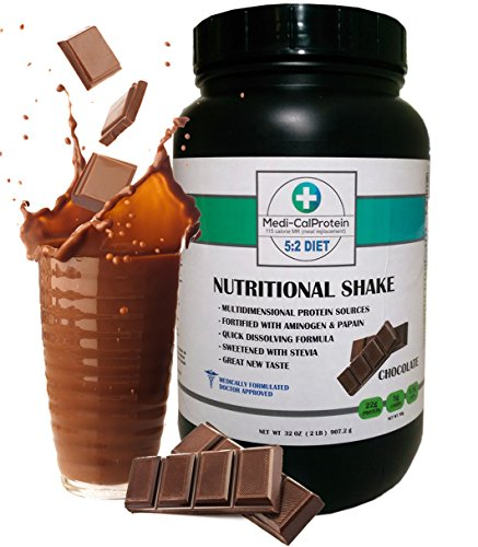 5 2 Diet Meal Replacement Shake Protein Powder Chocolate