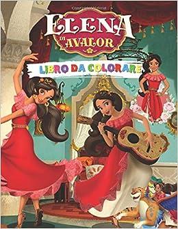 Amazon It Elena Di Avalor Libro Da Colorare Fantastico Libro Da Colorare Per Bambini Box Coloring Libri