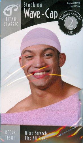 Titan Classic Stocking Wave-Cap Light Pink (Classic Stocking)