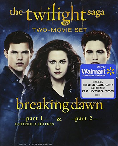 The Twilight Saga: Breaking Dawn, Parts 1 & 2 (Extended Edition) (Blu-ray + Digital Copy + Ultraviolet) (2 Movie Part Dawn Breaking)
