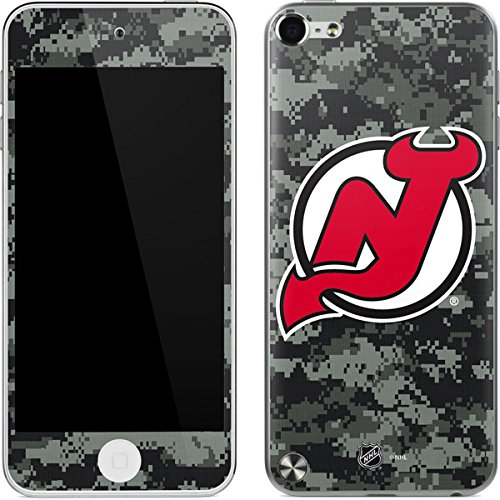 (NHL New Jersey Devils iPod Touch (5th Gen&2012) Skin - New Jersey Devils Camo Vinyl Decal Skin For Your iPod Touch (5th Gen&2012))
