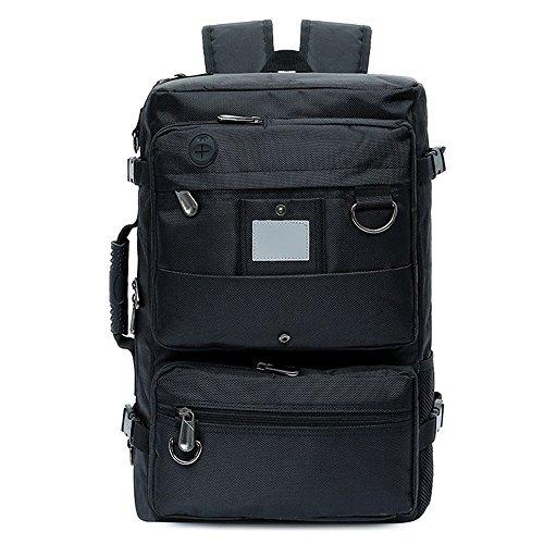 WEEN Charm Mens Outdoor Multi-Function Travel Duffel Bag Vintage Backpack Rucksack School Bookbag Hiking Luggage Weekend Bag by WEEN CHARM