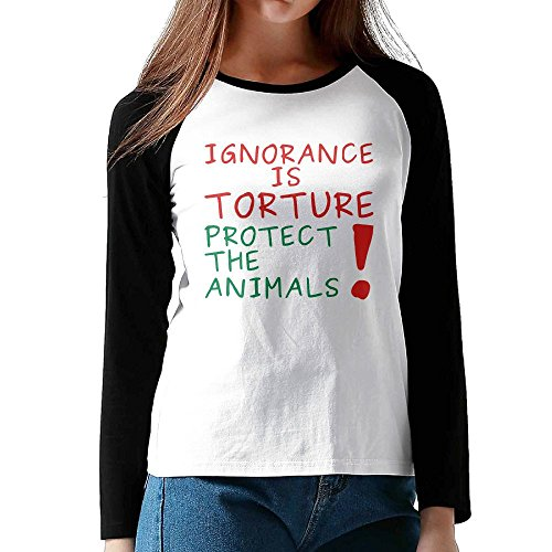 Linecustome Women's Ignorence Is Torture Long Sleeve T-Shirt XXL - Riverside Trade Days