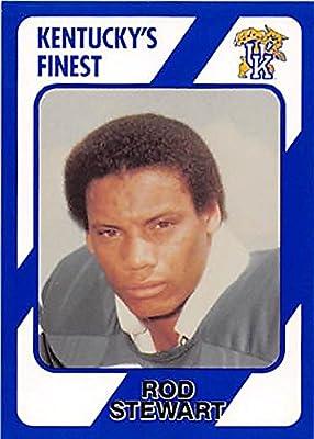 Rod Stewart Football Card (Kentucky Wildcats) 1989 Collegiate Collection #30