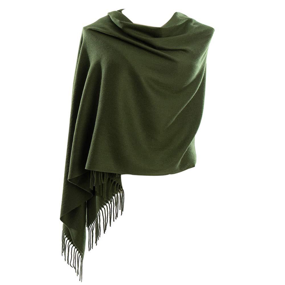Cyzlann Womens Scarves Long Fashion Cashmere Scarfs for Women and Men