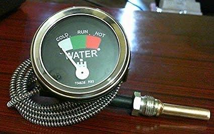 Rtp Water Temperature Gauge for Farmall IH International Tractors
