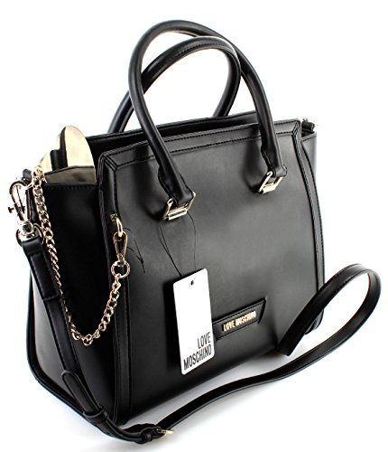 bandouliere MOSCHINO schwarz a article LOVE CALF black PU Sac black JC4077PP15LI tx5vwgxR