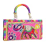 Jaipuriya Handicraft Clutch/Purse for Women & Girls (Queen) (Queen)