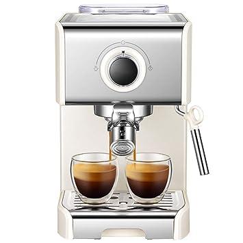 Máquina de café Bean To Cup 1250 Watt 1.2 litros de volumen del tanque de agua (Plata): Amazon.es: Hogar