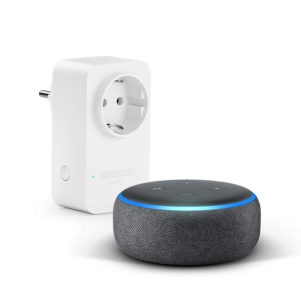 [amazon.de] Echo Dot (3. Gen.) + Smart Plug um 49,99€ anstatt 79,99€