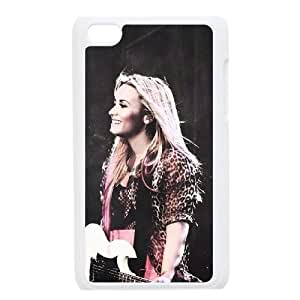 LGLLP Demi Lovato Phone case For Ipod Touch 4 [Pattern-4]