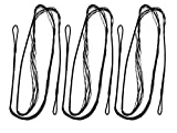 Double Loop Bowstring For Archery Bow - 3 Pack