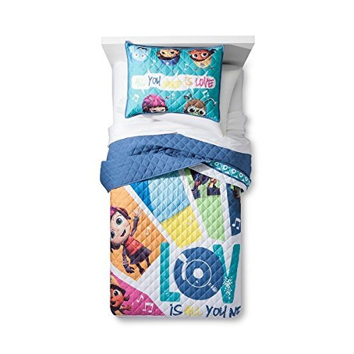 Beat Bugs Quilt Set (Twin/Full) 2pc