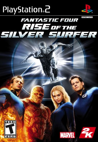 Fantastic 4: Rise of the Silver Surfer - PlayStation 2 -