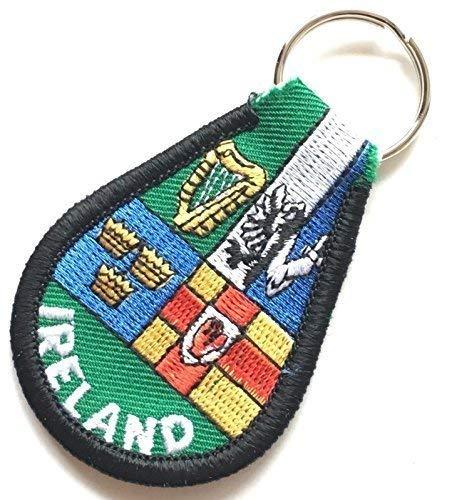 Irlanda CUATRO PROVENZA RECUERDO Bordado Llavero mando llave ...