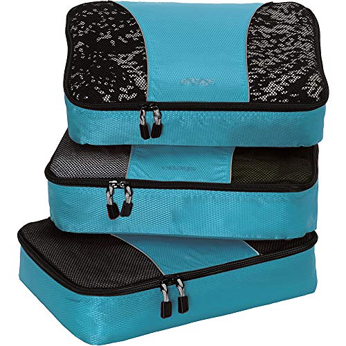 Cubes for Travel - 3pc Set - (Aquamarine) ()