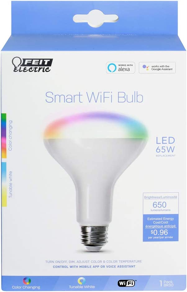 Feit Electric BR30/RGBW/CA/AG 650lm