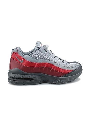 18c8cee04bc Nike Air Max 95 Junior Gris 905348-008  Amazon.fr  Chaussures et Sacs