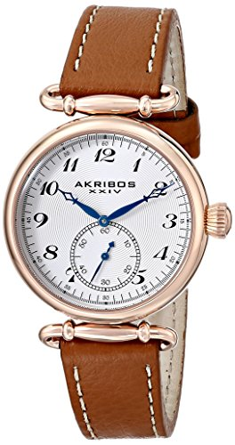 Akribos XXIV Women's AK704BR Impeccable Swiss Quartz Rose...