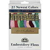 DMC 117F25-NP27 Embroidery Limited Edition Floss Pack, Assorted Color, 8.7-Yard, 27/Pack