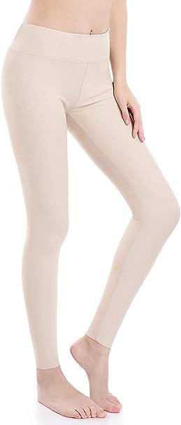 Yoga Fitness Workout Esecuzione Casual Elastici Collant Vita Alta Leggings Sportivi Wirezoll Leggings da Donna