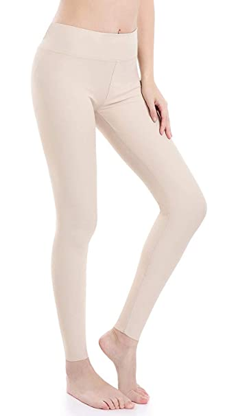Wirezoll Yoga Pantalon- Cintura Alta para Deporte Algodón Fitness/Deportes/Running/Yoga Pantalones Deportivos