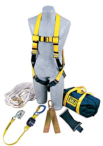 3M DBI-SALA 2104169 Roofer's Fall Protection Kit, Yellow