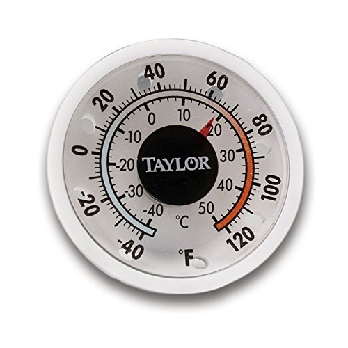 (Taylor Precision 5982N Milk Beverage Cooler Thermometer (Includes: Adhesive and Magnetic Backing), NSF)