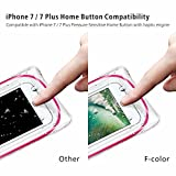Waterproof Case, 4 Pack F-color Floating Clear Waterproof Pouch Dry Case Compatible with iPhone X 8 7 7 Plus Home Button for iPhone, Google Pixel, Samsung, HTC, LG, Floating, Blue Black Orange Pink