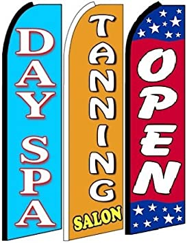Pack of 10 Hardware not Included Open King Swooper Feather Flag Sign