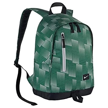 Nike Men All Access Halfday Backpack - Gorge Green Black White, One Size 0d271e1678