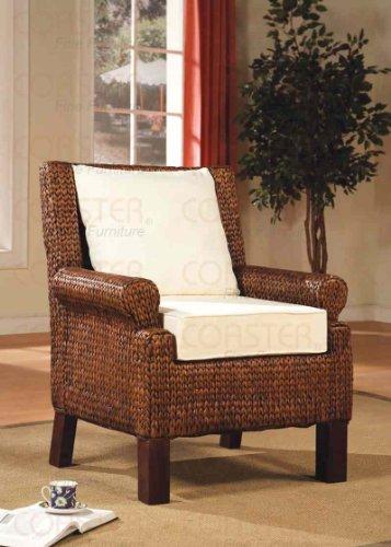 Coaster Woven Banana Leaf Living Room Accent Chair (Banana Rocker Chair)