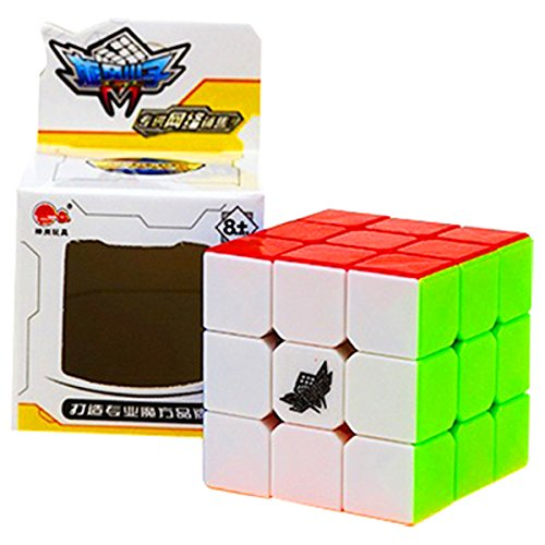 CuberSpeed Cyclone boys Mini Feiwu 3x3 Stickerless Magic cube Cyclone Boys Mini 3x3 (40mm)