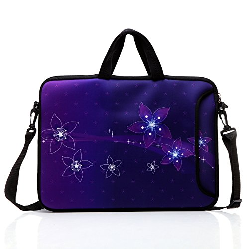 """Wholesale 14-Inch Laptop Shoulder Bag Sleeve Case With Handle For 13"""" 13.3"""" 14"""" 14.1"""" Netbook/Macbook Air Pro (Purple) for cheap"""