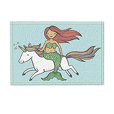 51Dhn2QE1AL._SS450_ 50+ Mermaid Themed Area Rugs