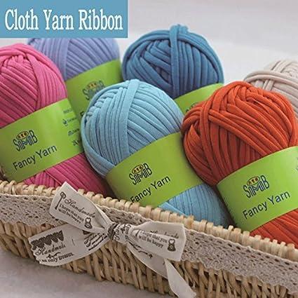 NUEVO Fancy hilo para mano tejer hilos gruesos Crochet ftalatos ...