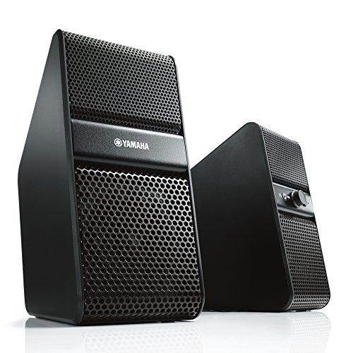 [해외]야마하 파워 드 스피커 (좌우 1 세트) 블랙 NX-50 (B) / Yamaha Powered Speaker (1 pair left and right) Black NX-50(B)