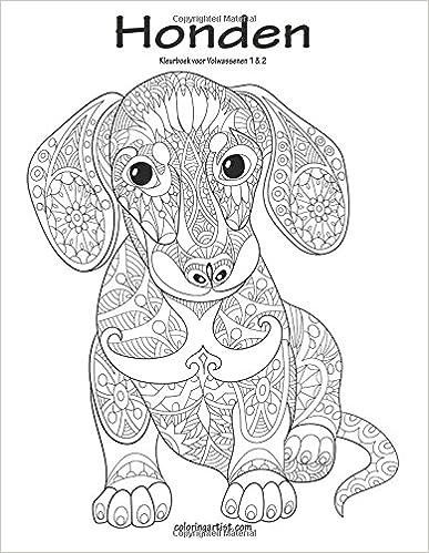 Honden Kleurboek voor Volwassenen 1 and 2