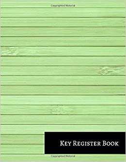 Key Register Book Journals For All