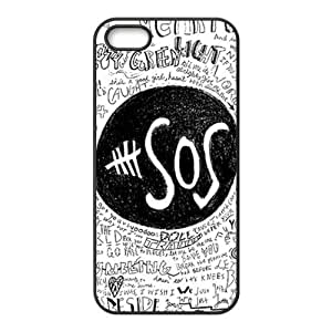 diy zhengSOS pattern Cell Phone Case for iphone 5/5s/