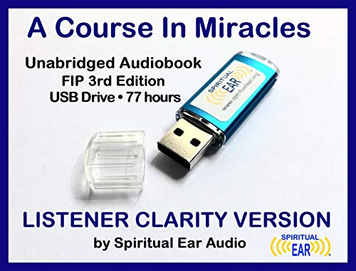 A Course In Miracles Listener Clarity Version Audiobook on USB Drive [USB  Drive] [Interactive DVD]