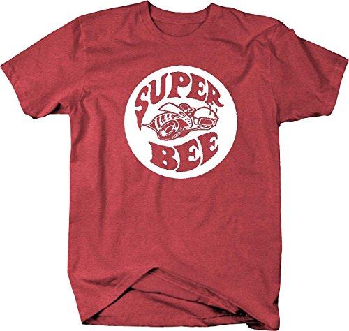 Super Bee Racing Charger Ram Racing Mopar Dodge Mens T Shirt - Xlarge