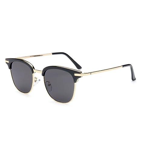 xuexue Retro Gafas De Sol Moda Moda Hombres Y Mujeres Cajas ...