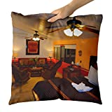 Westlake Art - Room Hotel - Decorative Throw Pillow Cushion - Picture Photography Artwork Home Decor Living Room - 18x18 Inch (55B4F)