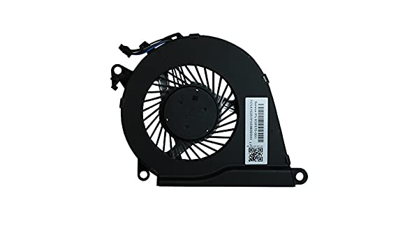 Power4Laptops Replacement Laptop Fan for HP Omen 15-ax003na HP Omen 15-ax003ng HP Omen 15-ax003nh HP Omen 15-ax003nj HP Omen 15-ax003nf